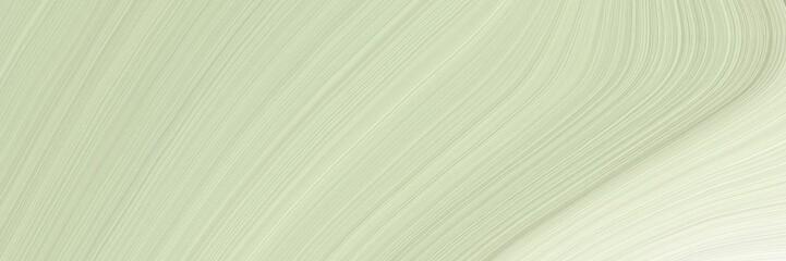 banner modern soft curvy waves background illustration with pastel gray, beig...