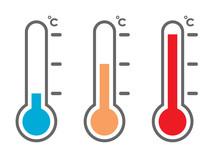 温度計アイコンセット