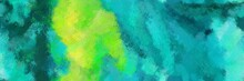 Colored Design Painted Brush W...