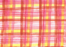 Watercolor Abstract Red And Yellow Background Kilt, Pattern Kilt