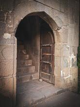 Old Door Of Fort