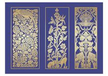 Peacock Motif Designs, Textile , Rajasthan, Royal India