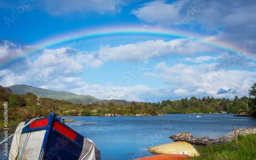Photo Rainbow over Bantry Bay in Ireland