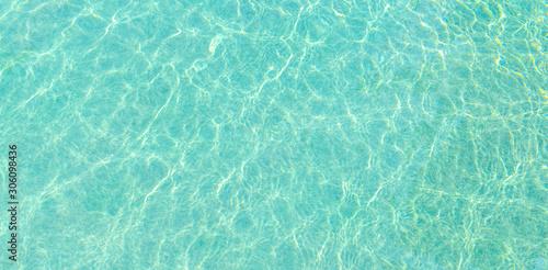 Swimming pool and sunlight reflection Fototapet