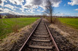 stillgelegte Nebenbahn bei Heiningen