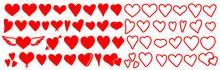 Heart .Heart Vector Set.Heart ...
