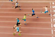 Athlete Runner Winner Of Sprin...