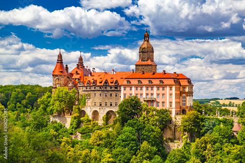 Fototapeta Zamek Książ obraz