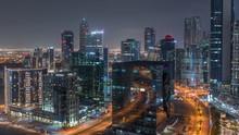 Dubai's Business Bay Towers Ae...