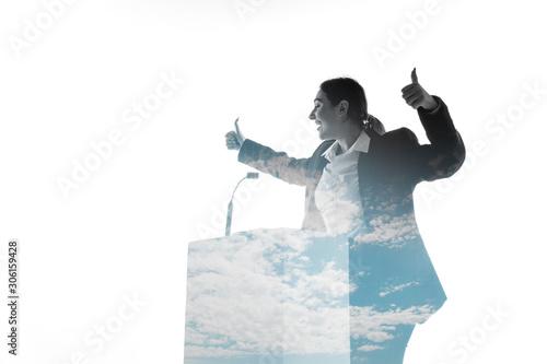 Obraz na plátne Leader