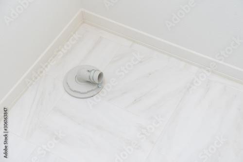 排水溝 洗濯機 Canvas-taulu