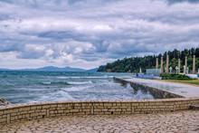 View Of Beautiful Promenade In...