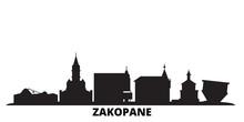 Poland, Zakopane City Skyline ...