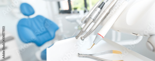 Dentist office. Dental tools, accessories
