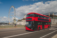 Iconic Red Double Decker Bus I...