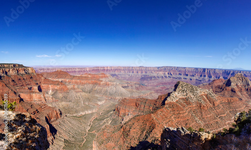 Panoramic View From North Rim of the Grand Canyon