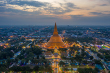 Golden Pagoda Phra Pathom Ched...