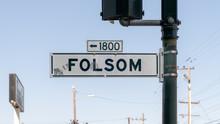 Folsom Street Sign,San Francis...