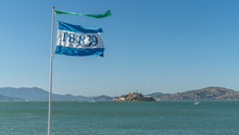 Pier 39 Flag Of Fisherman's Wh...