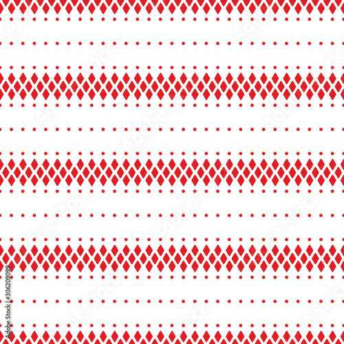 red-and-white-geometric-pattern-seamless-pattern-vector