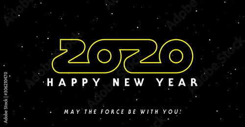 Photo 2020: May the force and happiness be with you !
