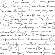 Handwritten Abstract Text Seam...