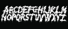 Metal Music Band's Font.White ...