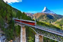 Zermatt, Switzerland. Gornergr...