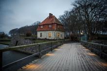 Litet Hus Vid Kalmar Slott