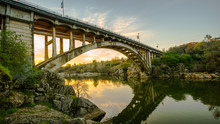 Rainbow Bridge In Folsom, Cali...