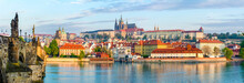 Prague Panorama With Charles B...