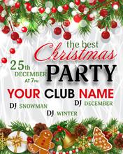 Christmas Party Invitation Tem...