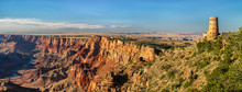 Desert View Watchtower Panorama - Grand Canyon National Park