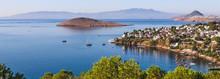 Aegean Coast With Marvelous Bl...