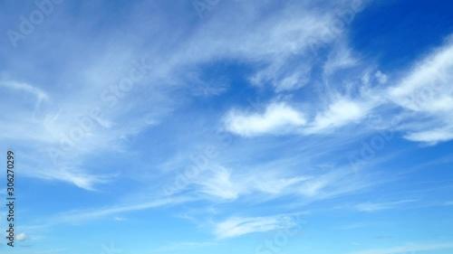 Fototapete - 青空 タイムラプス