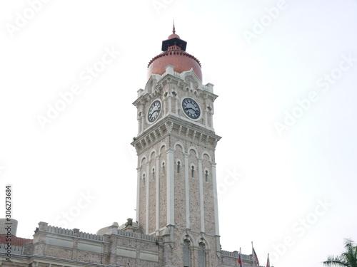 sultan abdul samad building Canvas Print