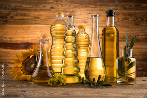 Cooking and food oil products, Extra virgin olive, sunflower seed, rapeseed oil