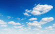 white cloud with blue sky background