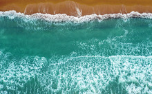 Pacific Ocean Aerial View.