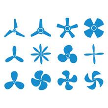 Propeller Icon Vector Design S...