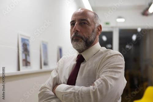 Fotografering Confident mature businessman