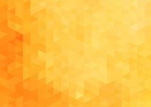 Yellow Geometric Abstract Background