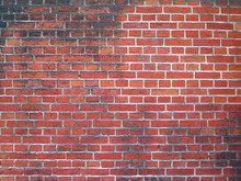 Brick Wall Patinated And Color...