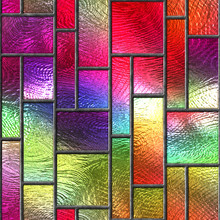 Stained Glass Seamless Texture...
