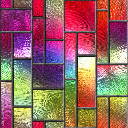 witraz-bezszwowa-tekstura-z-prostokata-wzorem-dla-okno-barwiony-szklo-3d-ilustracja