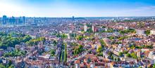 Brussels Panoramic Cityscape, Belgium