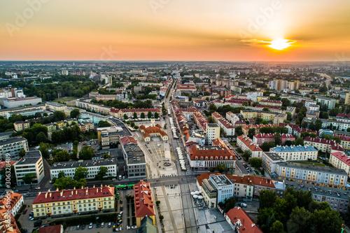 Obraz Rynek Kościuszki - fototapety do salonu