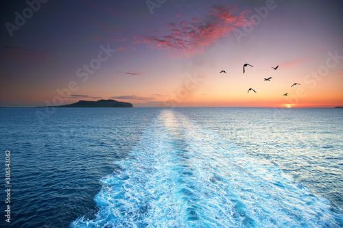 Foto Überfahrt Meer