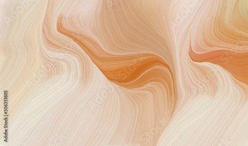 Obrazy abstrakcyjne  smooth-swirl-waves-background-design-with-baby-pink-peru-and-dark-salmon-color