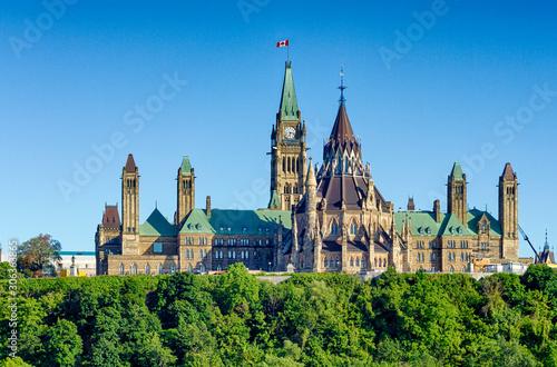 Fotografie, Obraz Ottawa Parliament Hill